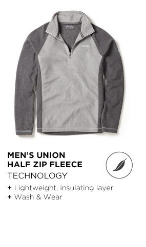 Men's Union Half-Zip Fleece