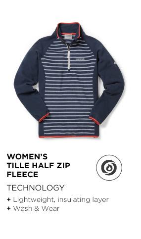Women's Tille Half-Zip Fleece