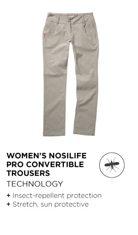 Women's Nosilife Pro Convertible Trousers