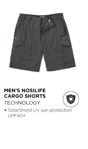 Men's Nosilife Cargo Shorts